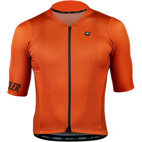 Biehler Signature³ Performance Jersey Korte Mouwen Heren, electric rust